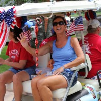 Cart parade